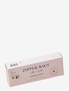 Zipper Bags Large - rangement cuisine - clear