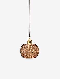Nora Lamp - lampes suspendues - amber