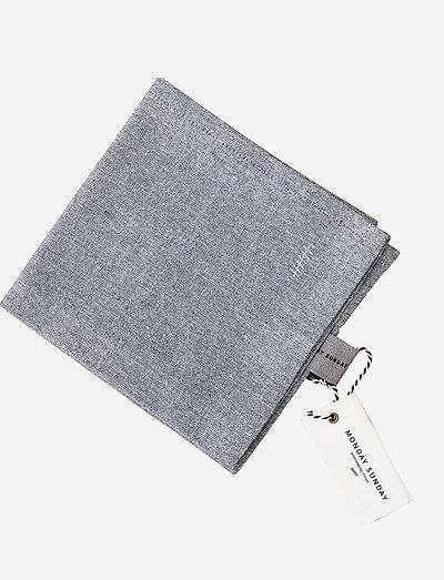 Anne Chambray Dishtowel - kjøkkenhåndklær - blue