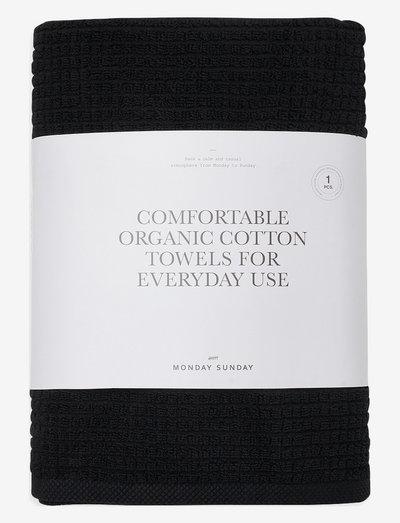 Trista - håndklær & badelaken - black