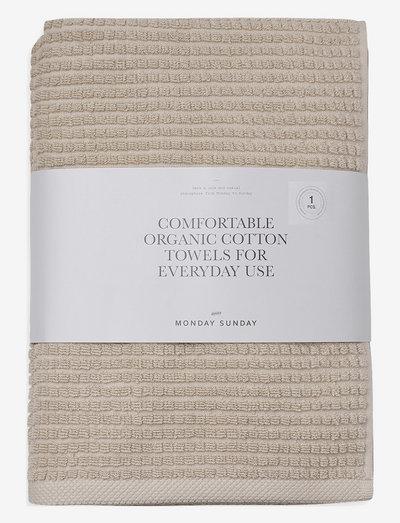 Trista - håndklær & badelaken - sand