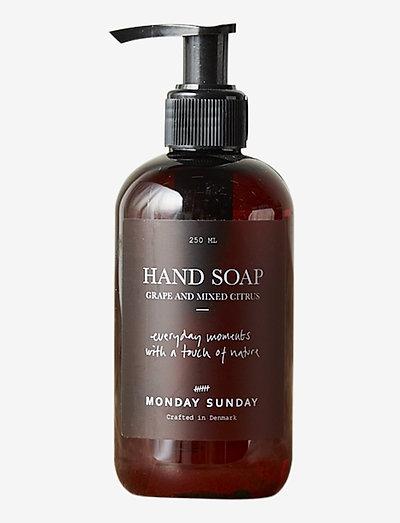 Moments Hand Soap - handtvål - brown