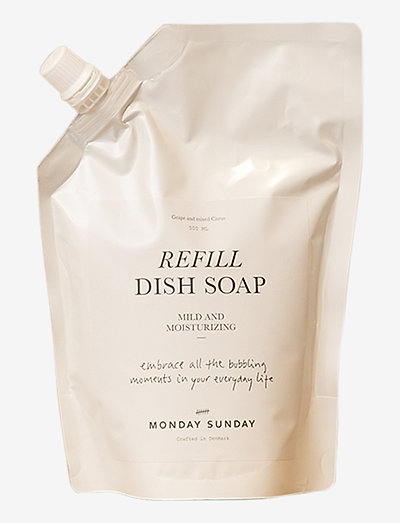 Moments Refill Dish Soap - oppvaskmiddel - clear