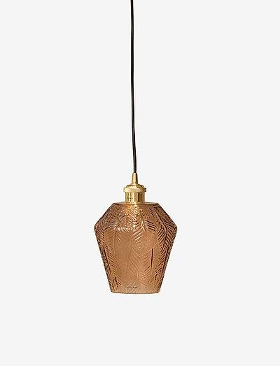 Norma Lamp - pendler - amber