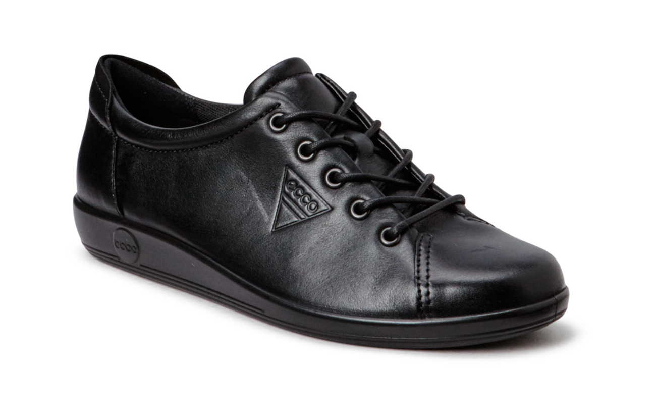 ECCO SOFT 2.0 - BLACK WITH BLACK SOLE