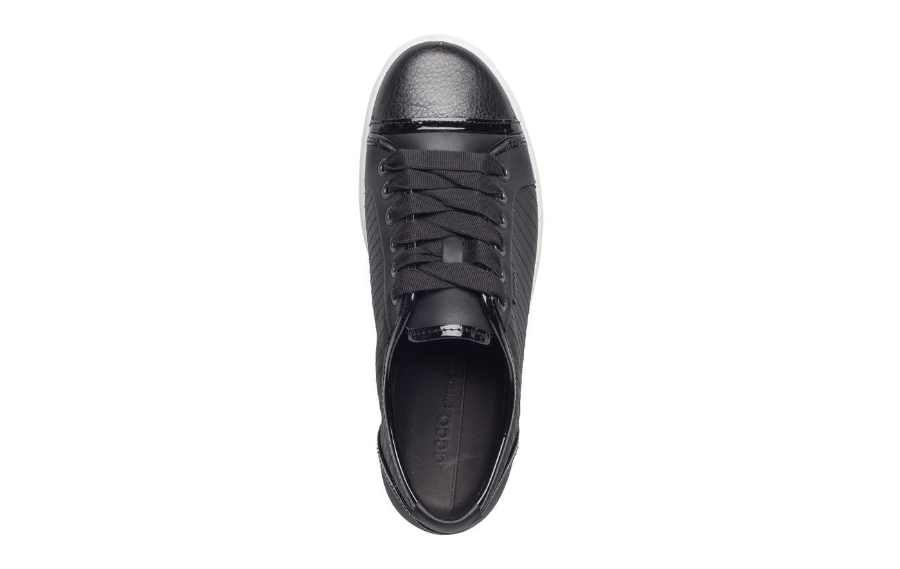 Ecco Black Full Empeigne Extérieure En Cuir Grain 7 black Supérieure black Semelle Soft Doublure Polyurethane W r0w1qrt