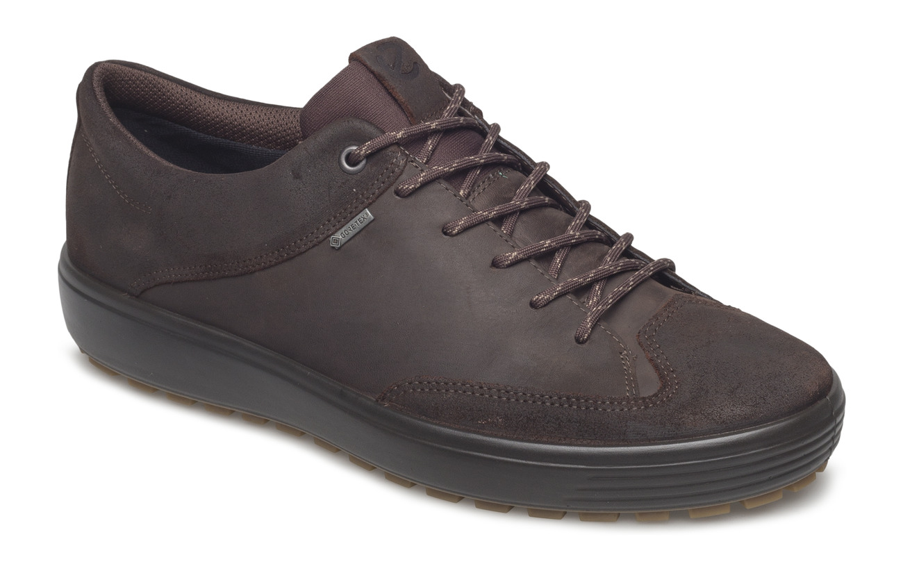 ECCO SOFT 7 TRED M - COFFEE/COFFEE