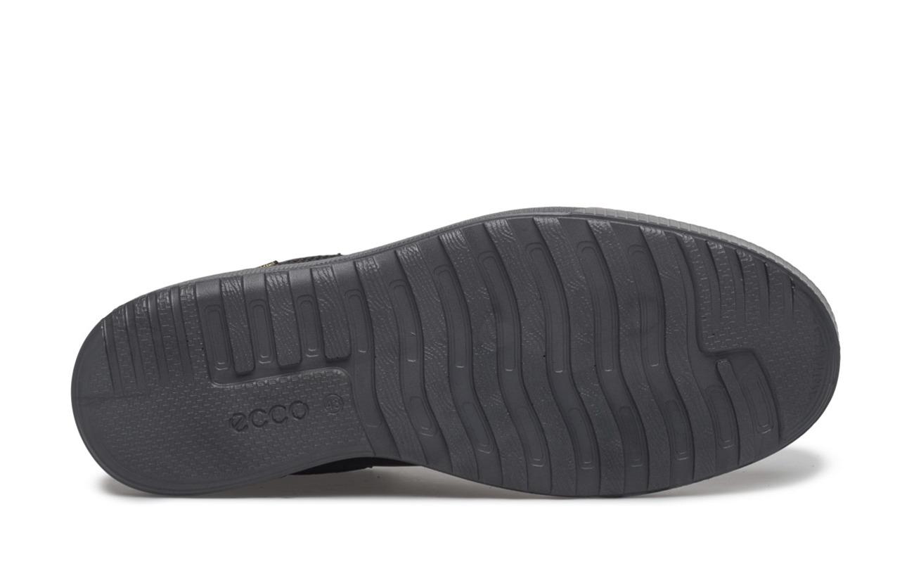 Semelle Ennio Ecco Nubuck Oil Empeigne Textile Extérieure Supérieure Black Polyurethane Doublure 7qOdq8