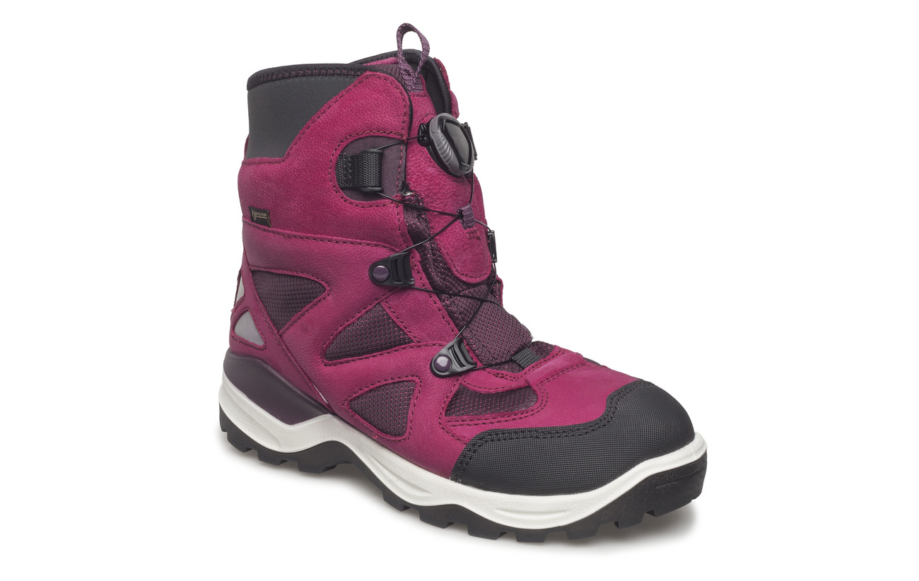 e152656f35a Snow Mountain (Black/red Plum) (£78) - ECCO - | Boozt.com