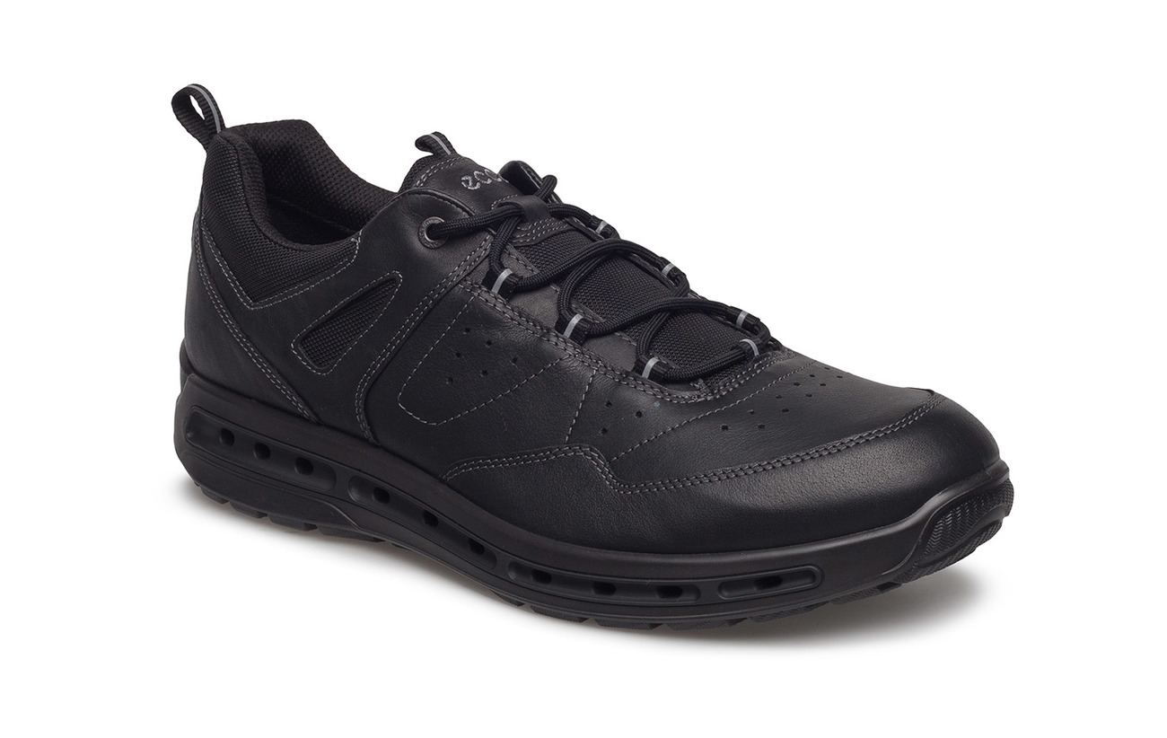 Ecco Semelle Cuir Doublure Black Extérieure Walk Cool Polyurethane Empeigne Yak Supérieure Tpu Textile zHzUwr