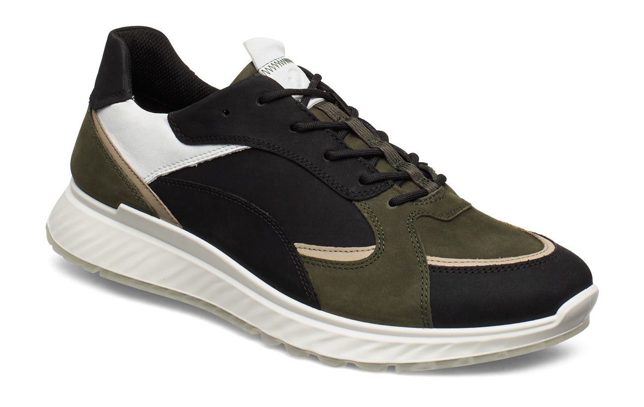 ECCO ST.1 M - BLACK/DEEP FOREST/WHITE/SAGE