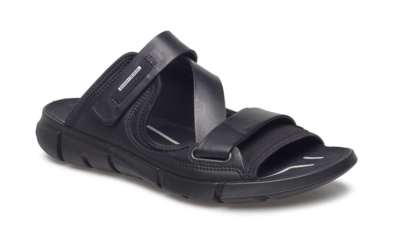 a358b3a35 Intrinsic Sandal (Black black) (£100) - ECCO -