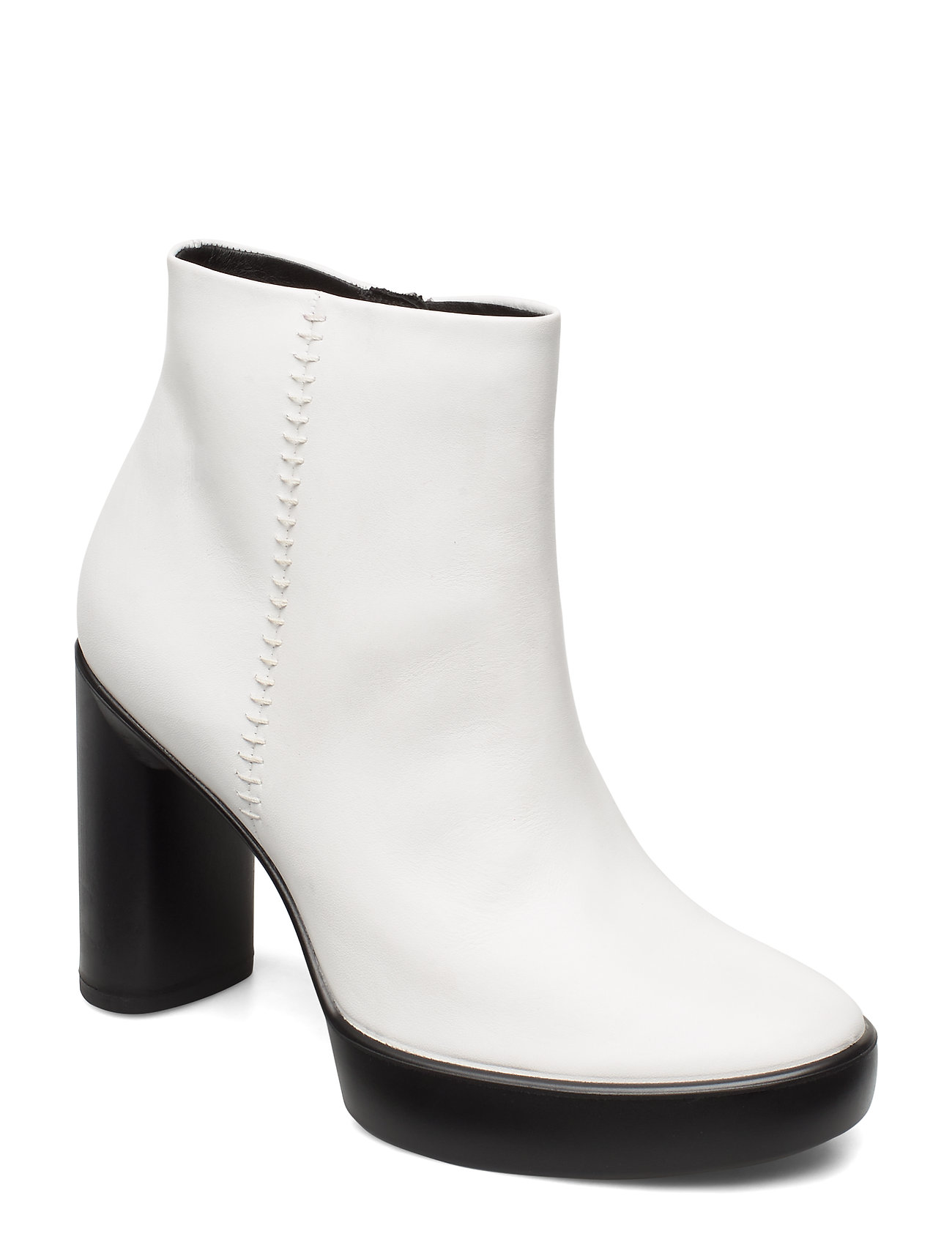 Image of Shape Sculpted Motion 75 Shoes Boots Ankle Boots Ankle Boot - Heel Hvid ECCO (3439725015)
