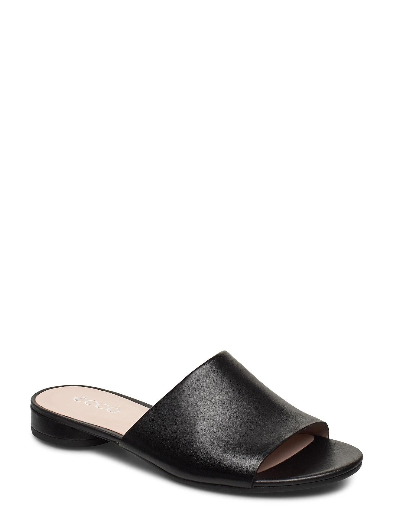 Image of W Flat Sandal Ii Shoes Summer Shoes Flat Sandals Sort ECCO (3481595339)
