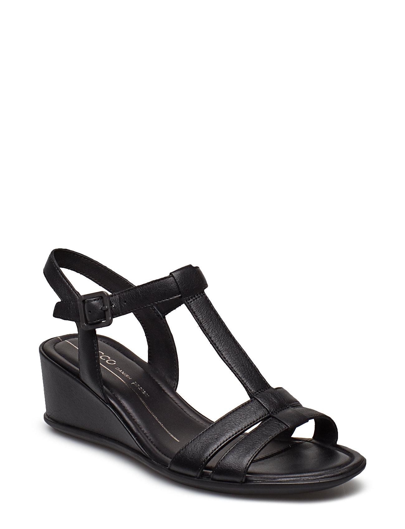 4142f623f48 Shape 35 Wedge Sandal sandaler med kilehæl fra ECCO til dame i Sort ...