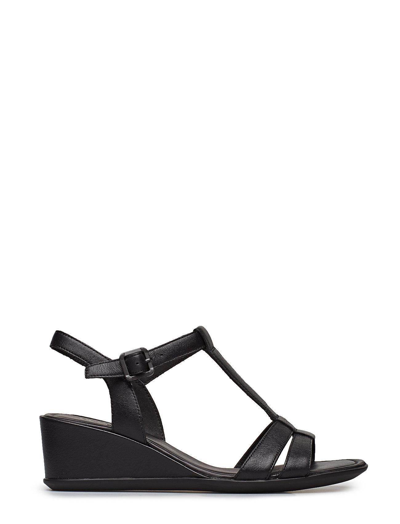 f1ce9b421c2 Shape 35 Wedge Sandal sandaler med kilehæl fra ECCO til dame i Sort ...