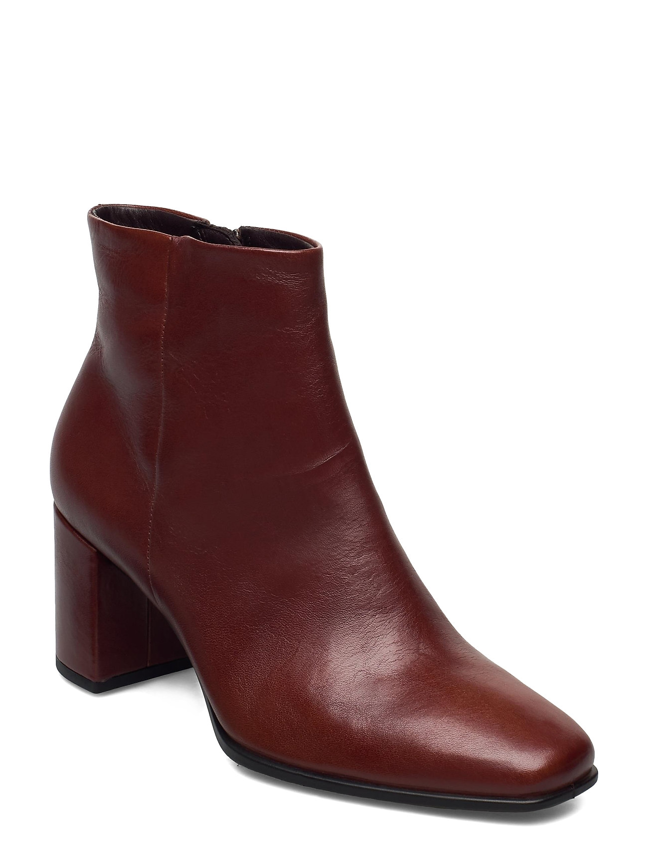 Image of Shape 60 Squared Shoes Boots Ankle Boots Ankle Boot - Heel Brun ECCO (3454939797)