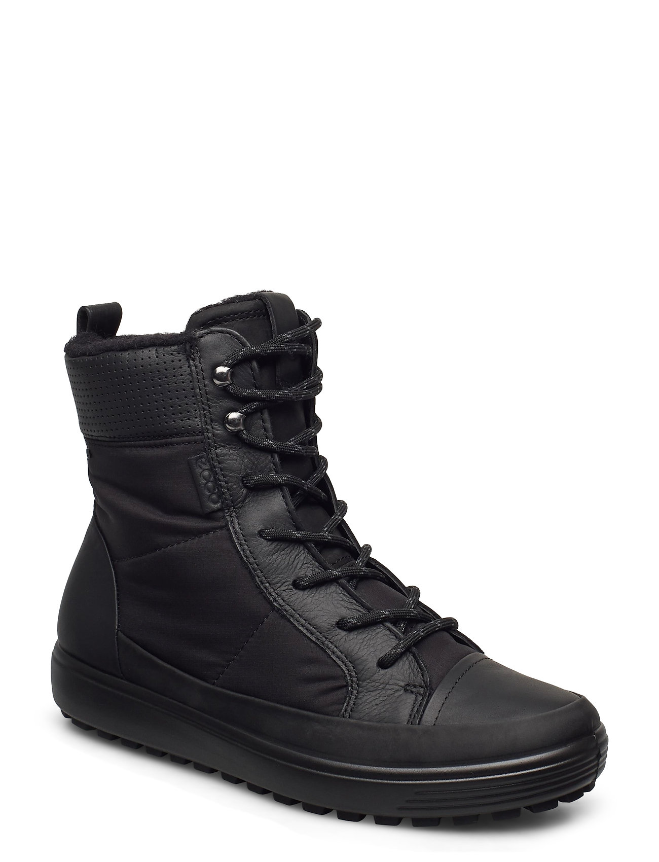 Image of Soft 7 Tred W Shoes Boots Ankle Boots Ankle Boot - Flat Sort ECCO (3442838563)