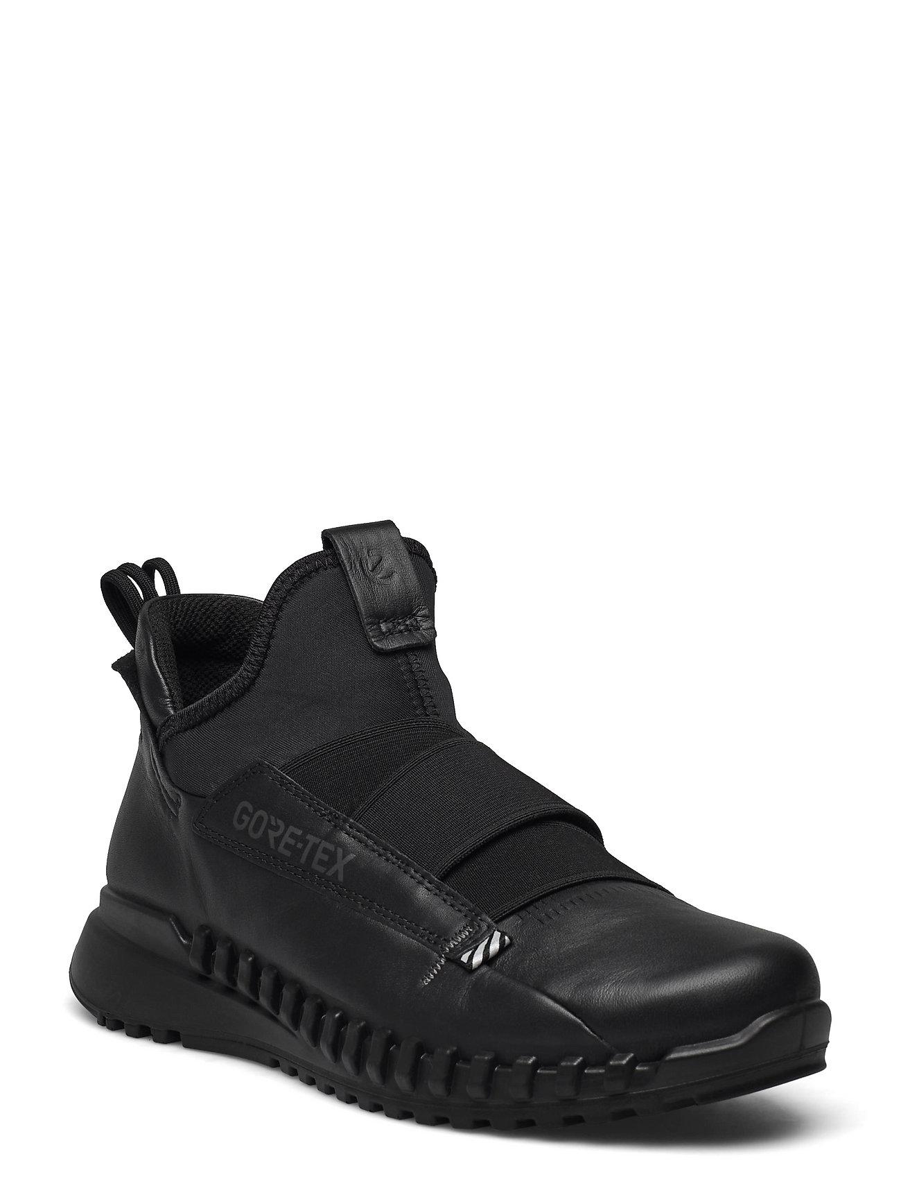 Zipflex W Sneakers Sort ECCO