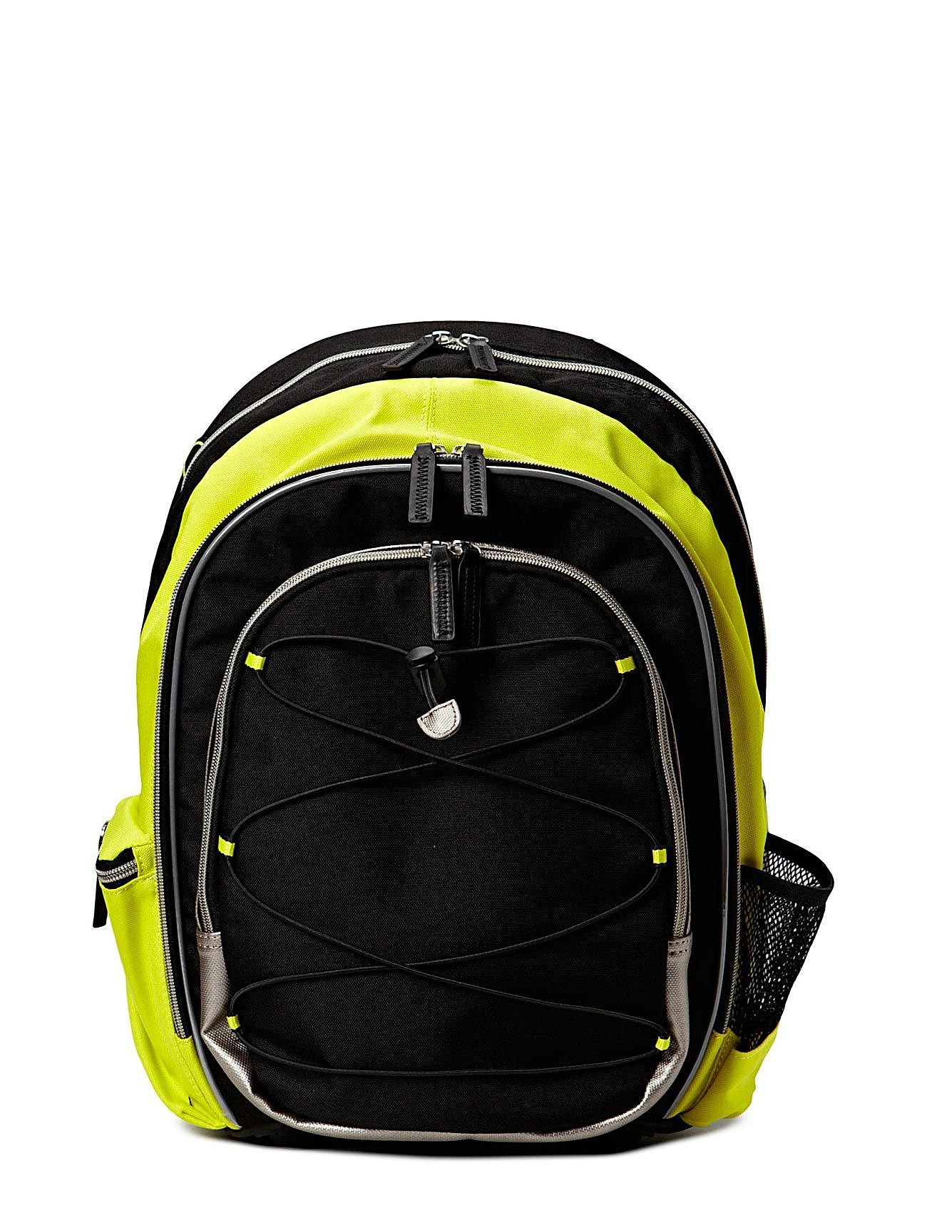 ECCO Back to School - BLACK/SULPHUR
