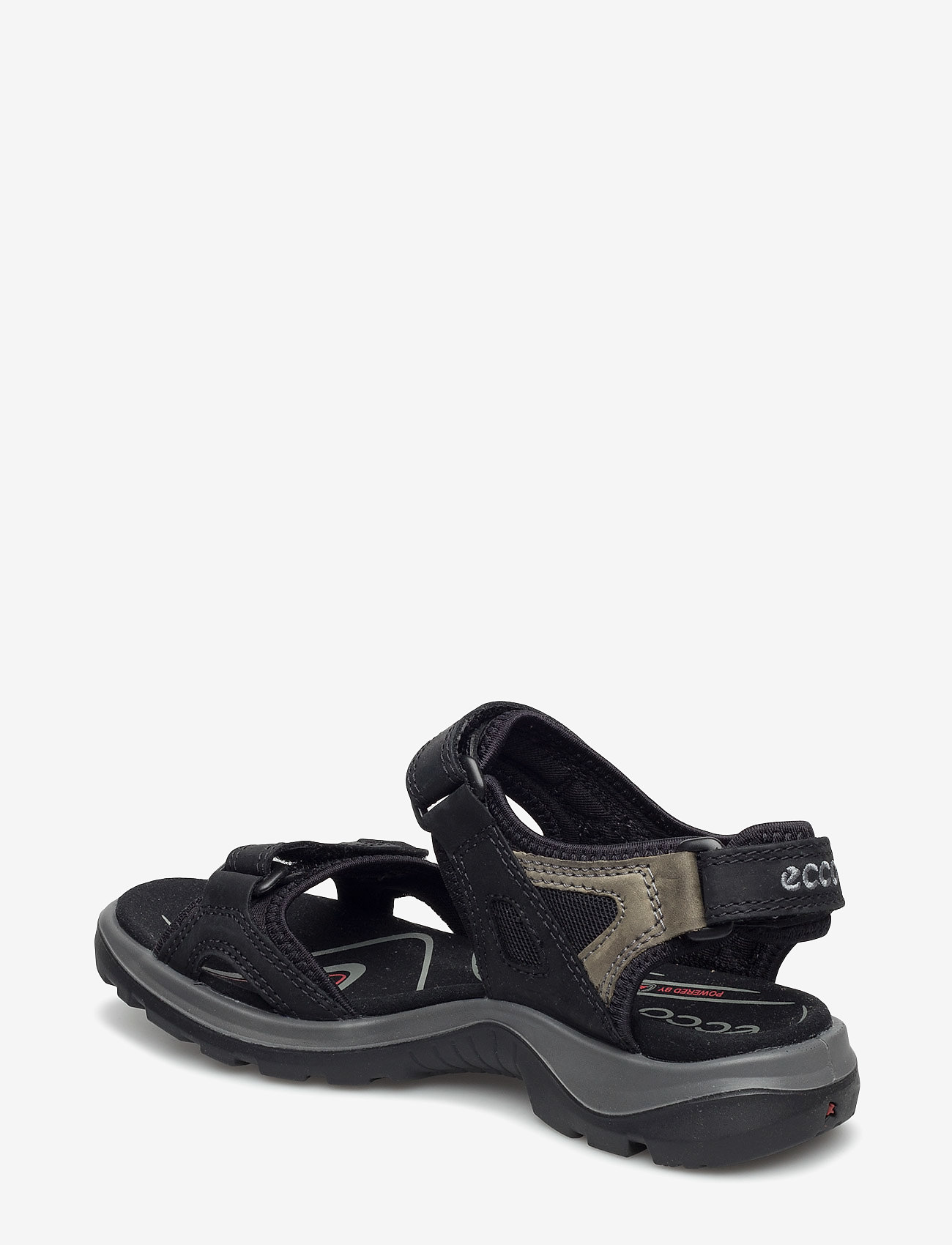 ECCO - OFFROAD - platte sandalen - black/mole/black