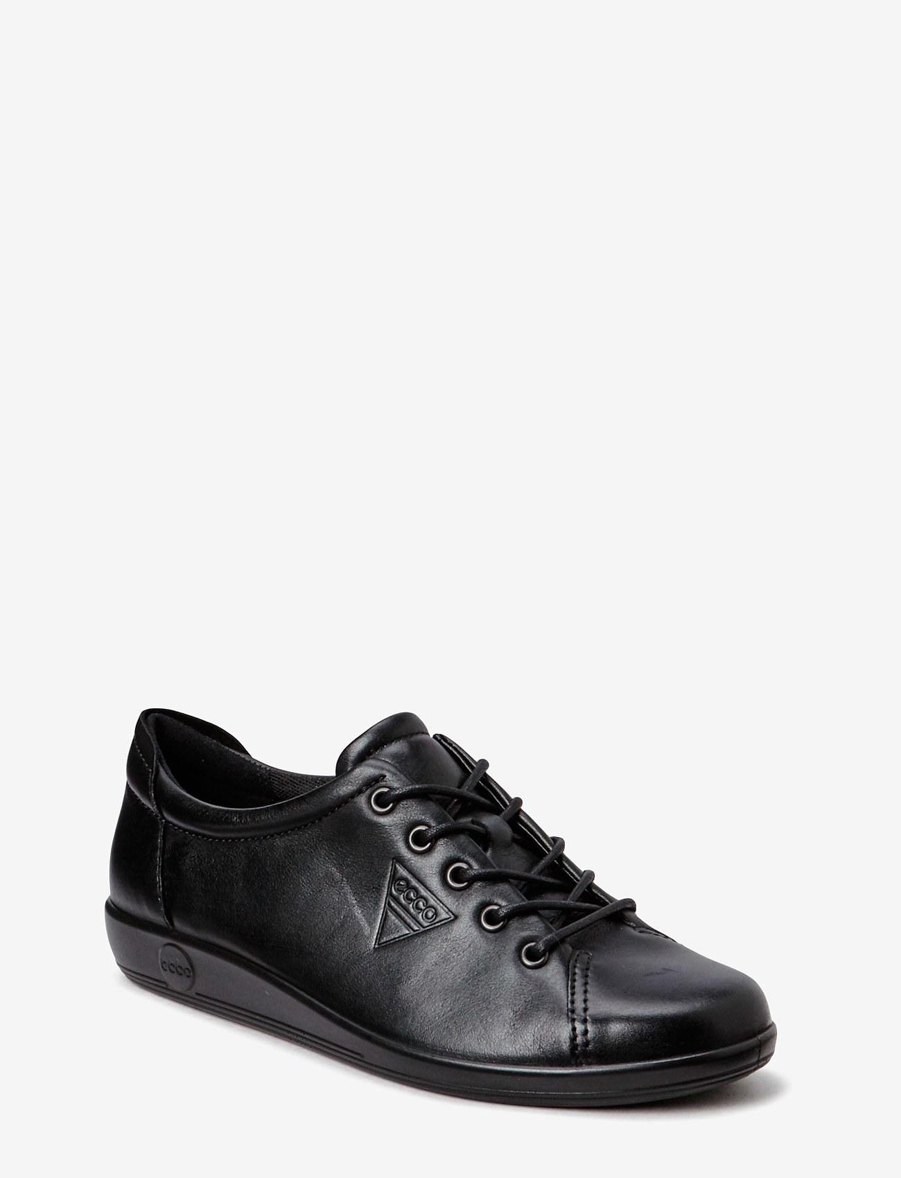 ECCO - SOFT 2.0 - low top sneakers - black with black sole - 0