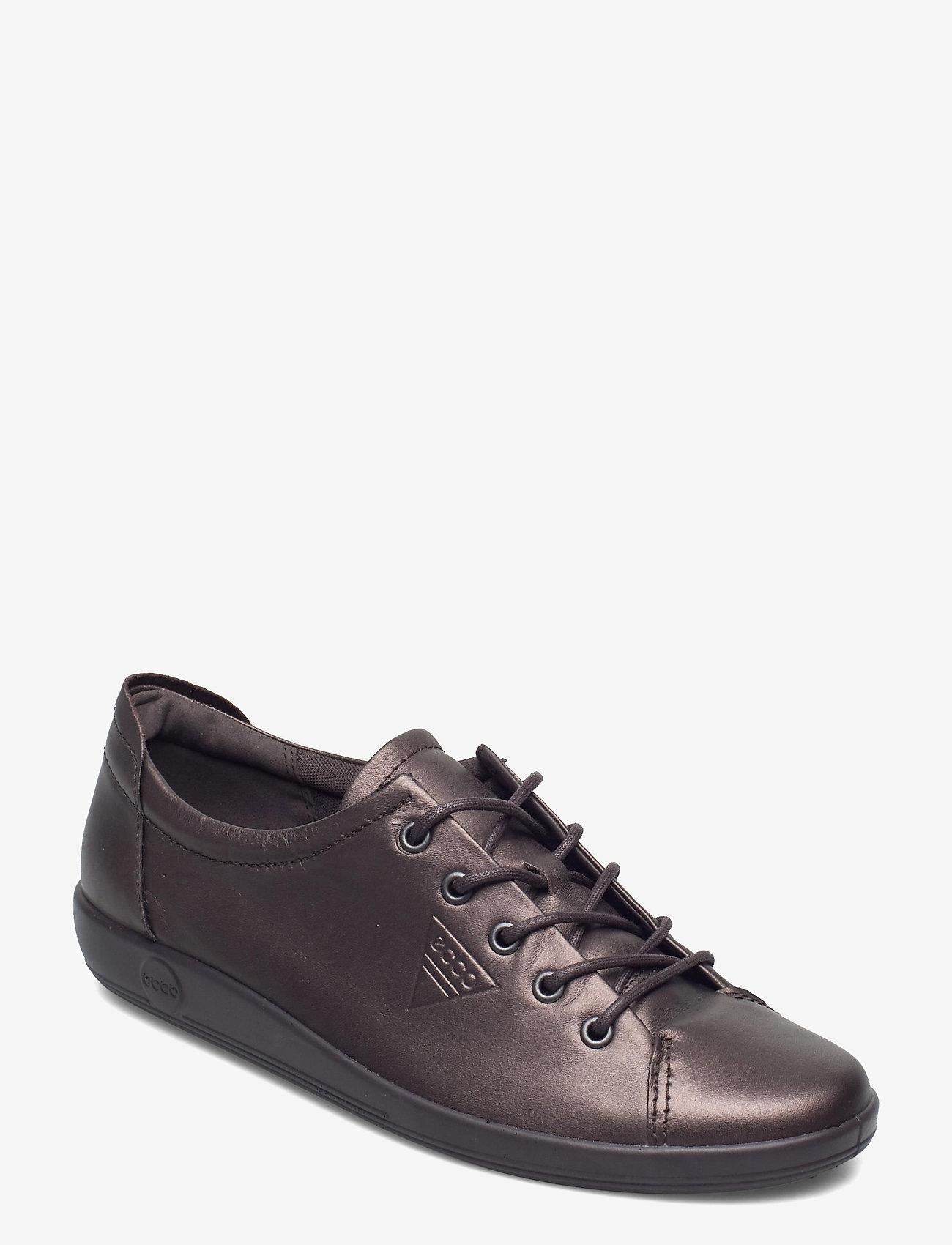 ECCO - SOFT 2.0 - låga sneakers - shale metallic - 0
