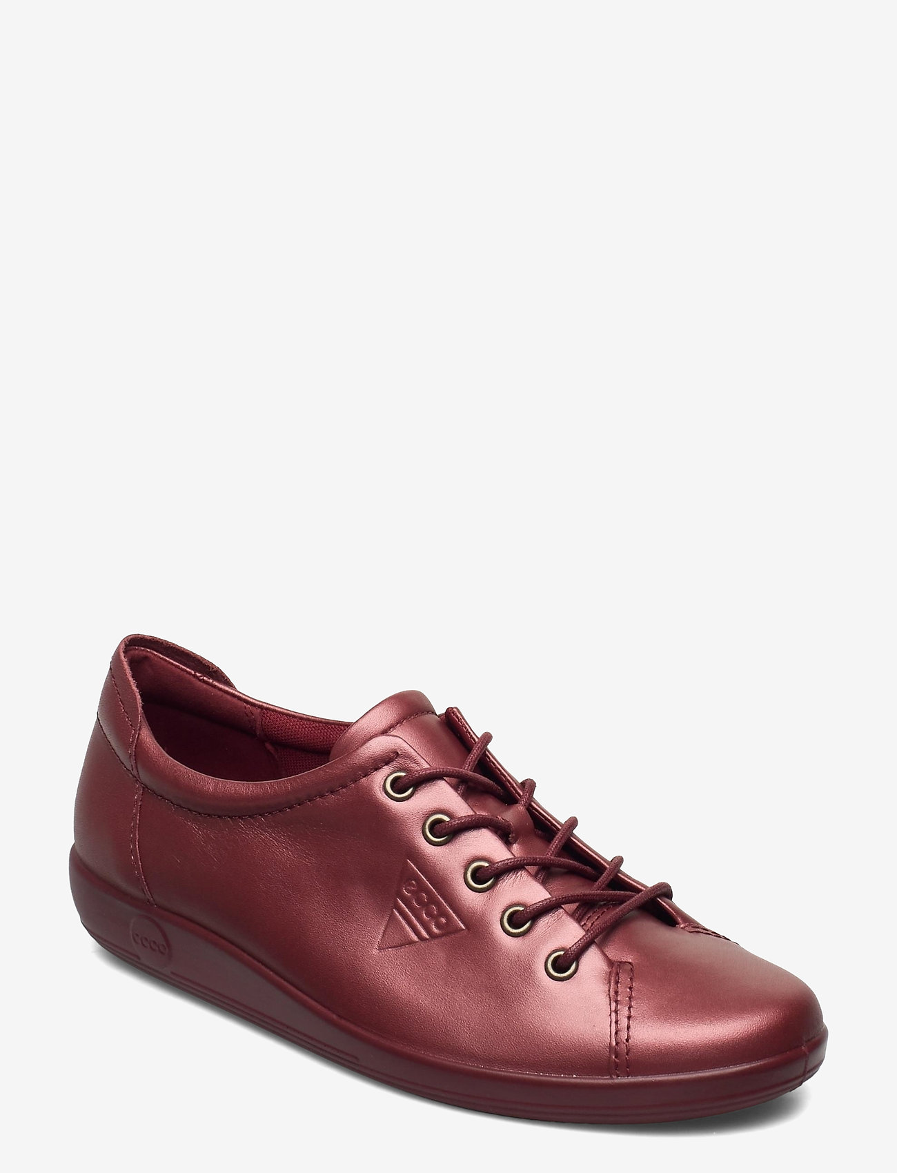 ECCO - SOFT 2.0 - låga sneakers - syrah metallic - 0
