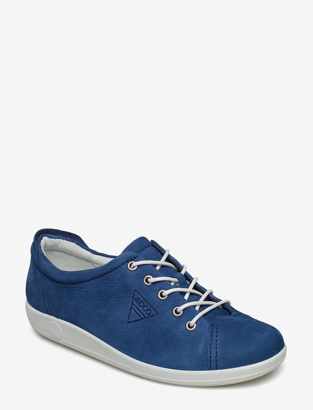 ECCO - SOFT 2.0 - låga sneakers - true navy - 0