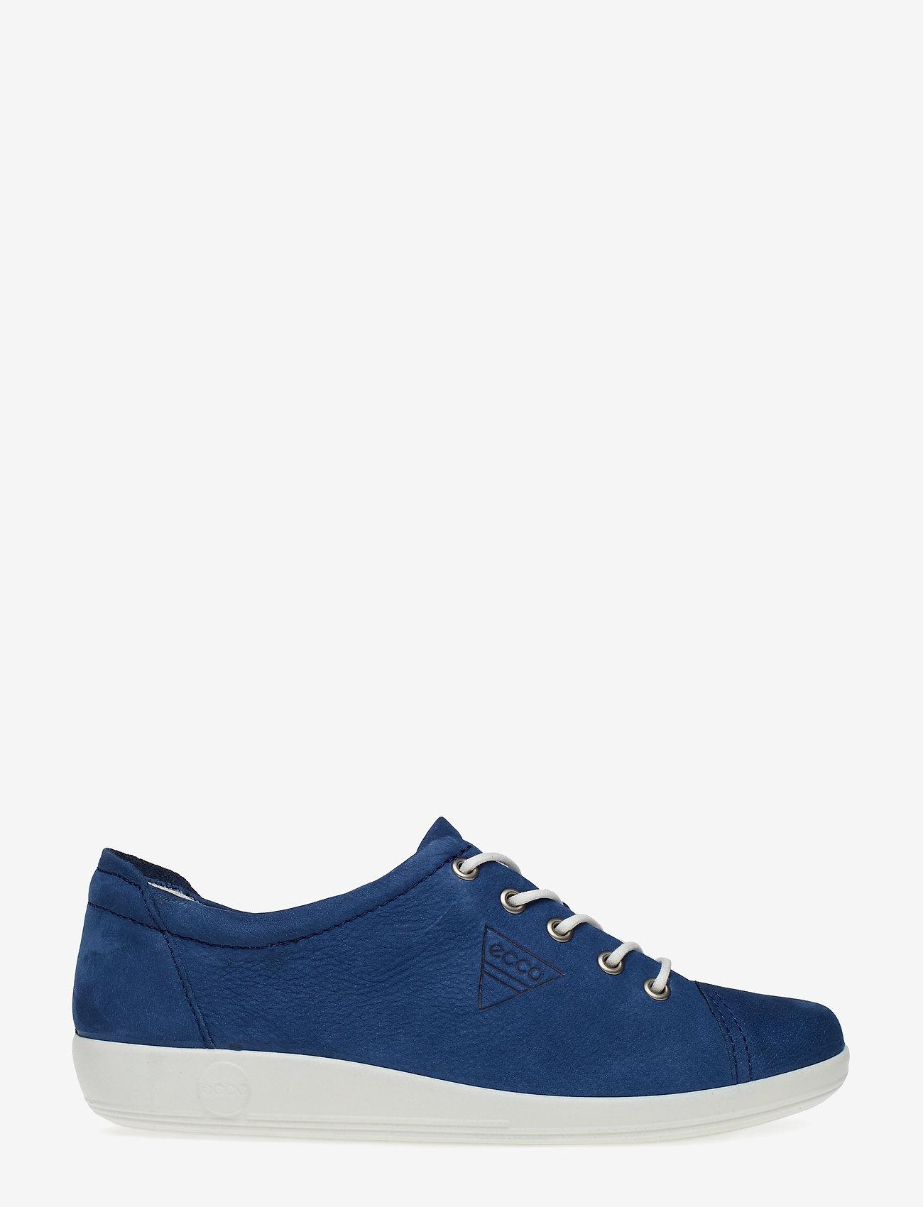ECCO - SOFT 2.0 - låga sneakers - true navy - 1
