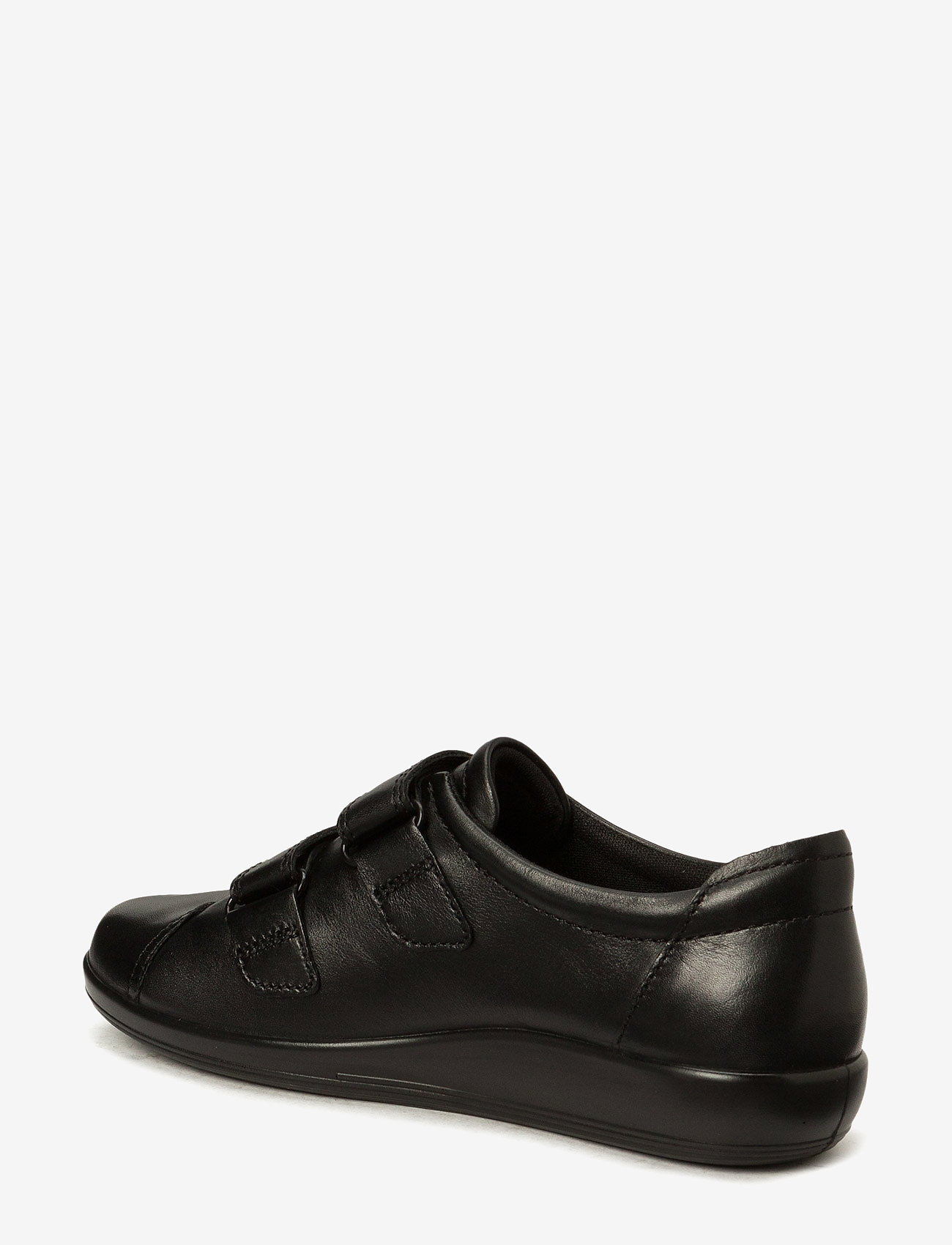ECCO - SOFT 2.0 - low top sneakers - black with black sole - 1