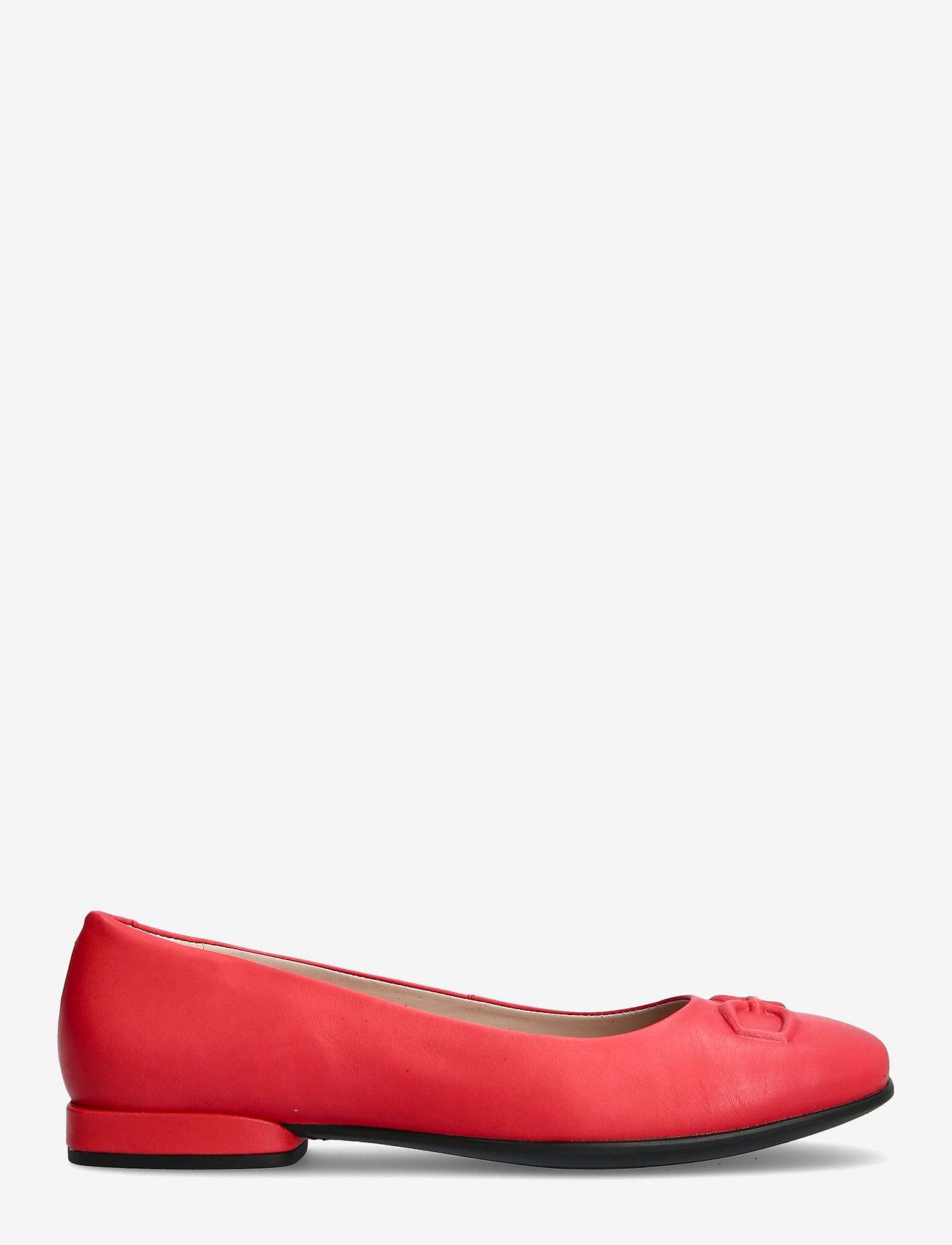 ECCO - ANINE SQUARED - ballerinas - hibiscus - 1