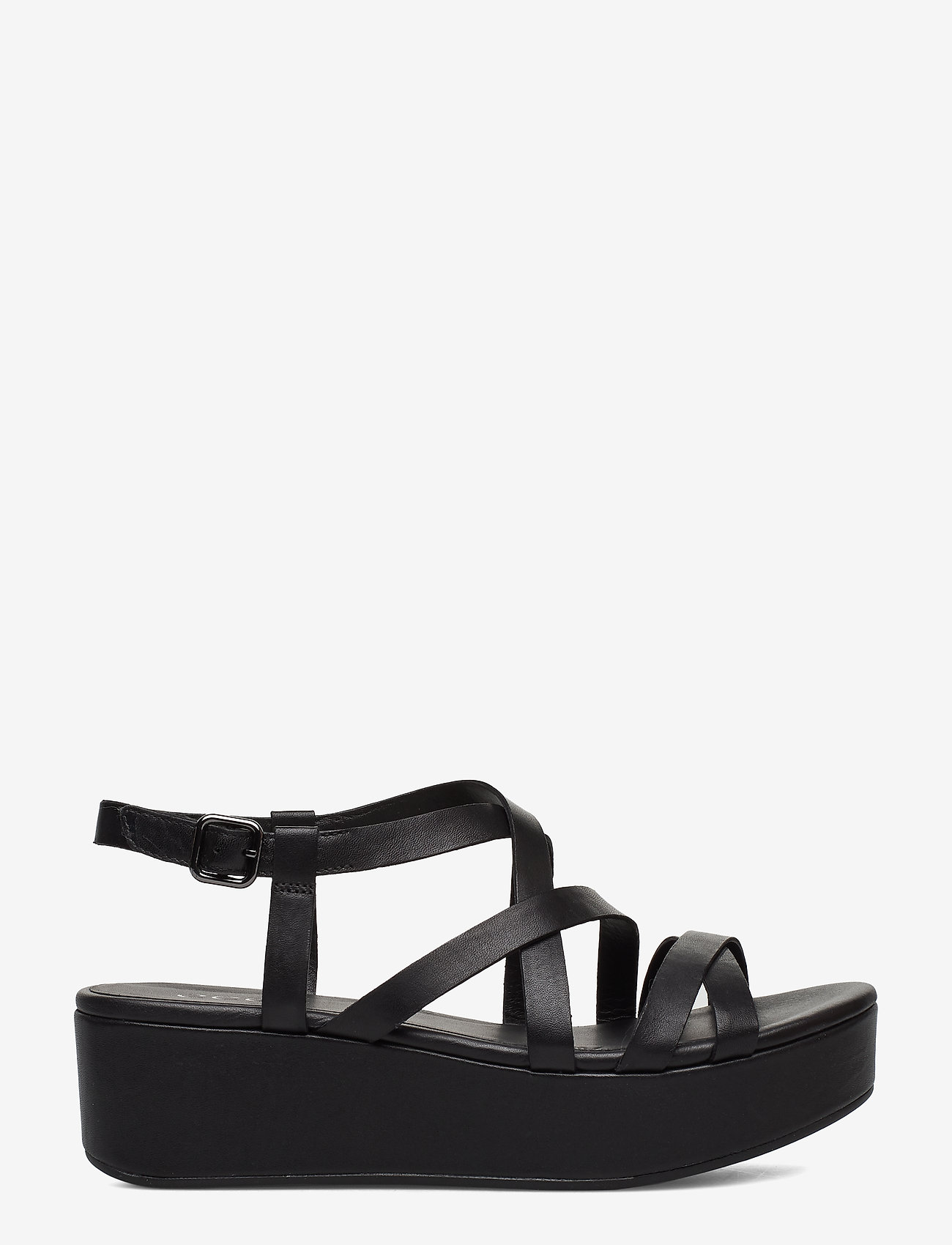 ECCO - ELEVATE PLATEAU SANDAL - flat sandals - black - 1