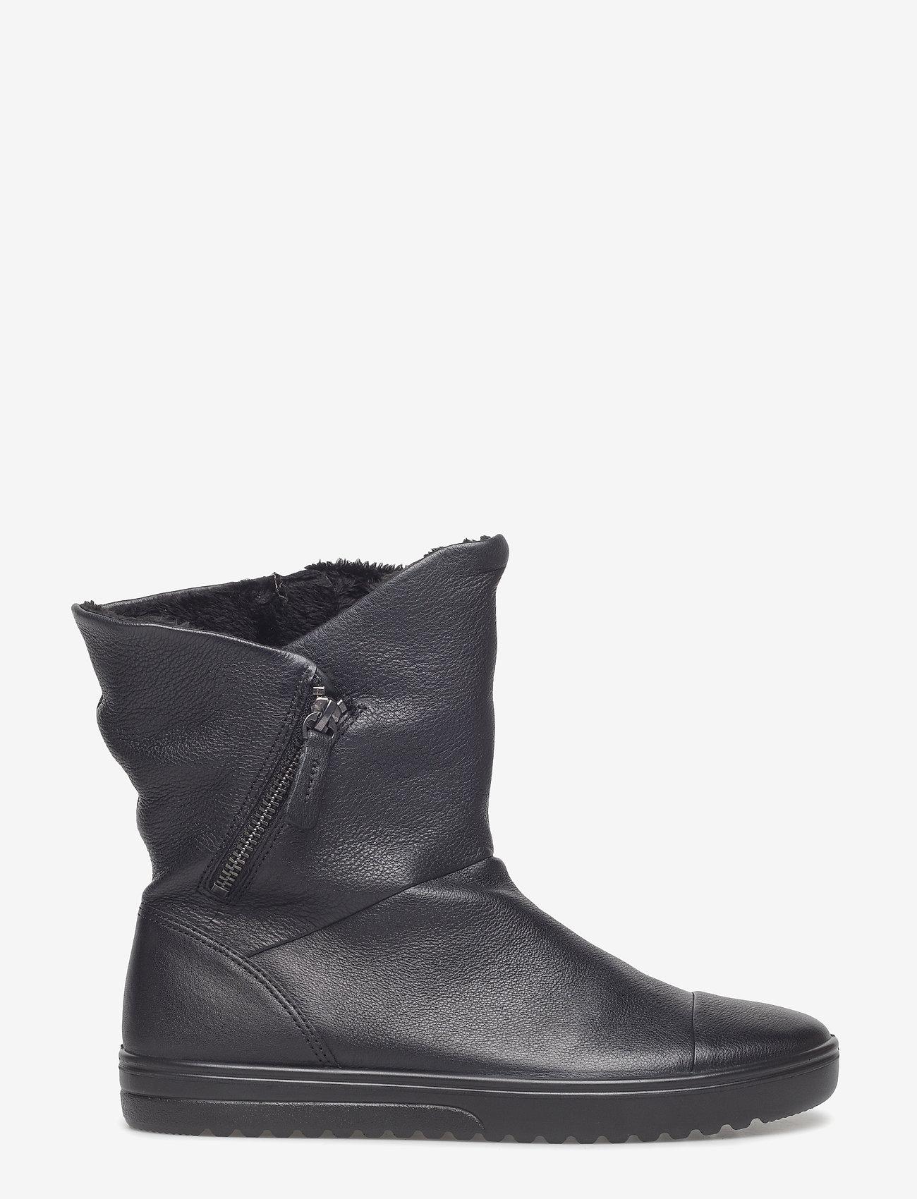 ECCO - FARA - flade ankelstøvler - black - 0
