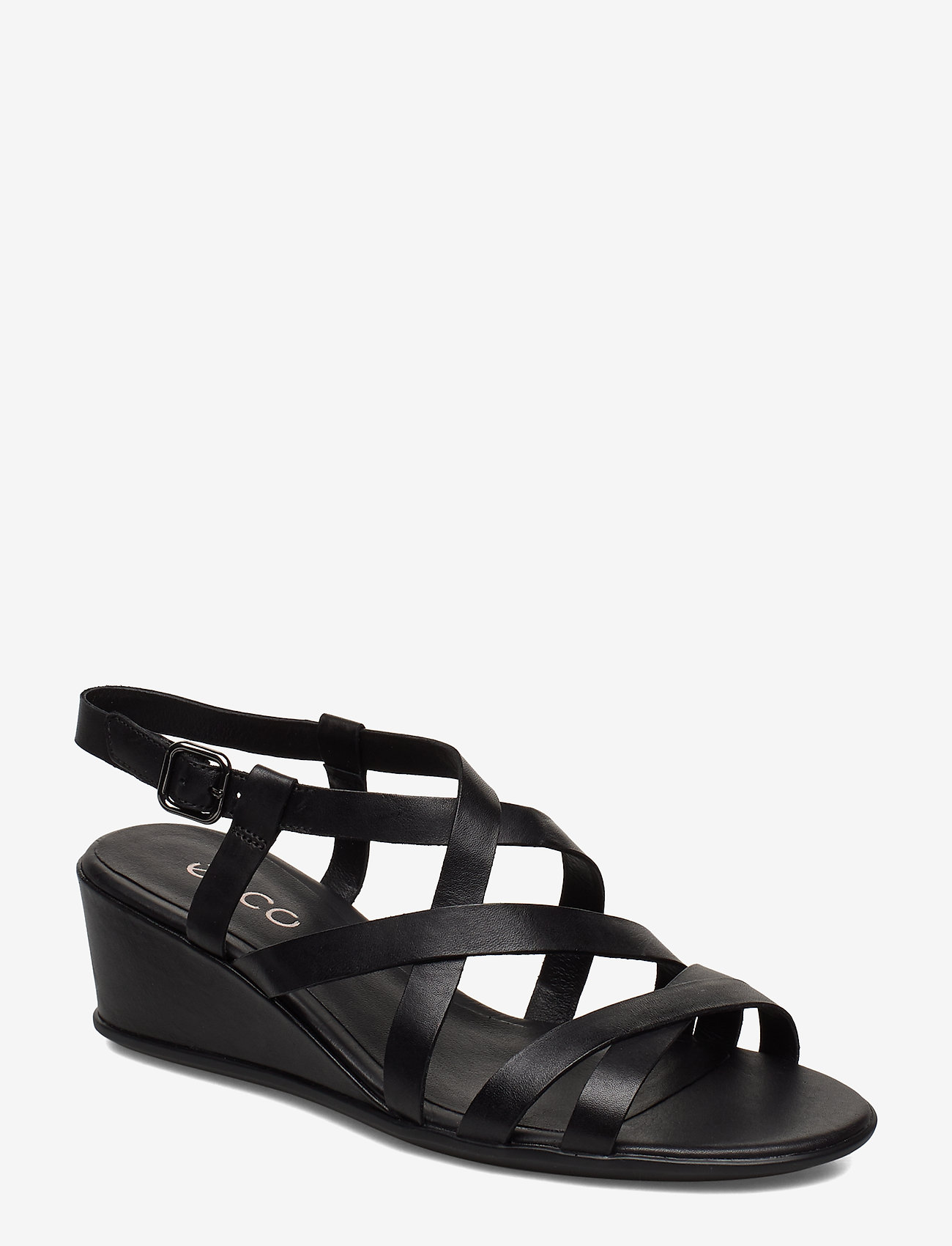 ECCO - SHAPE 35 WEDGE SANDAL - flat sandals - black - 0
