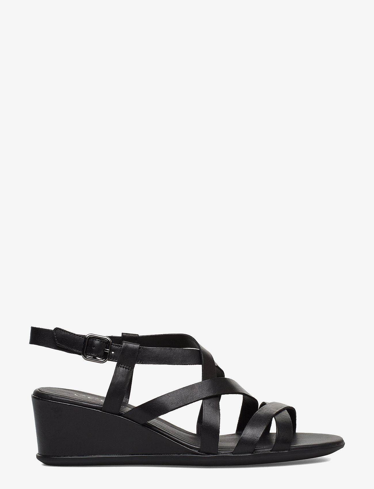 ECCO - SHAPE 35 WEDGE SANDAL - flat sandals - black - 1