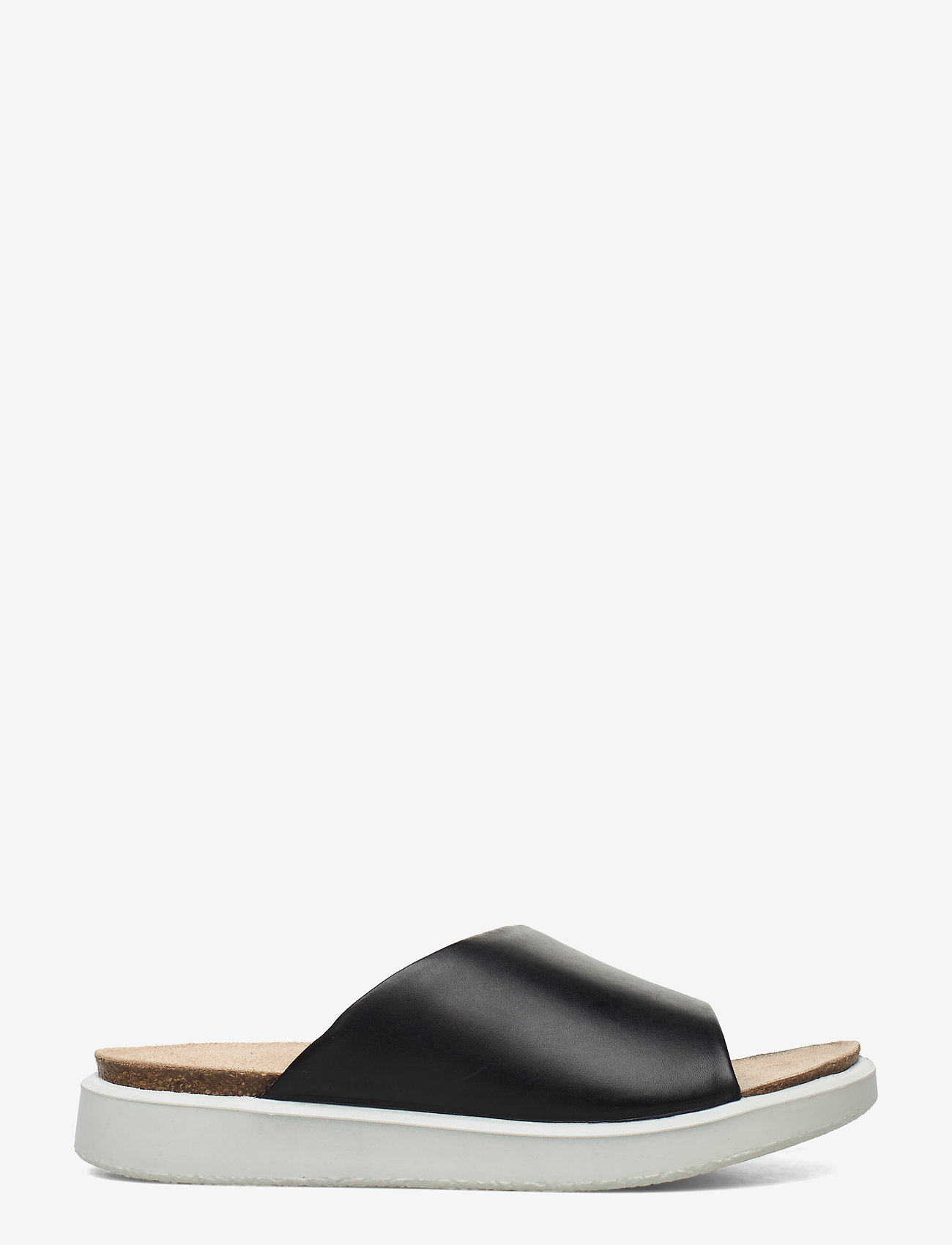 ECCO - CORKSPHERE SANDAL - flat sandals - black - 1