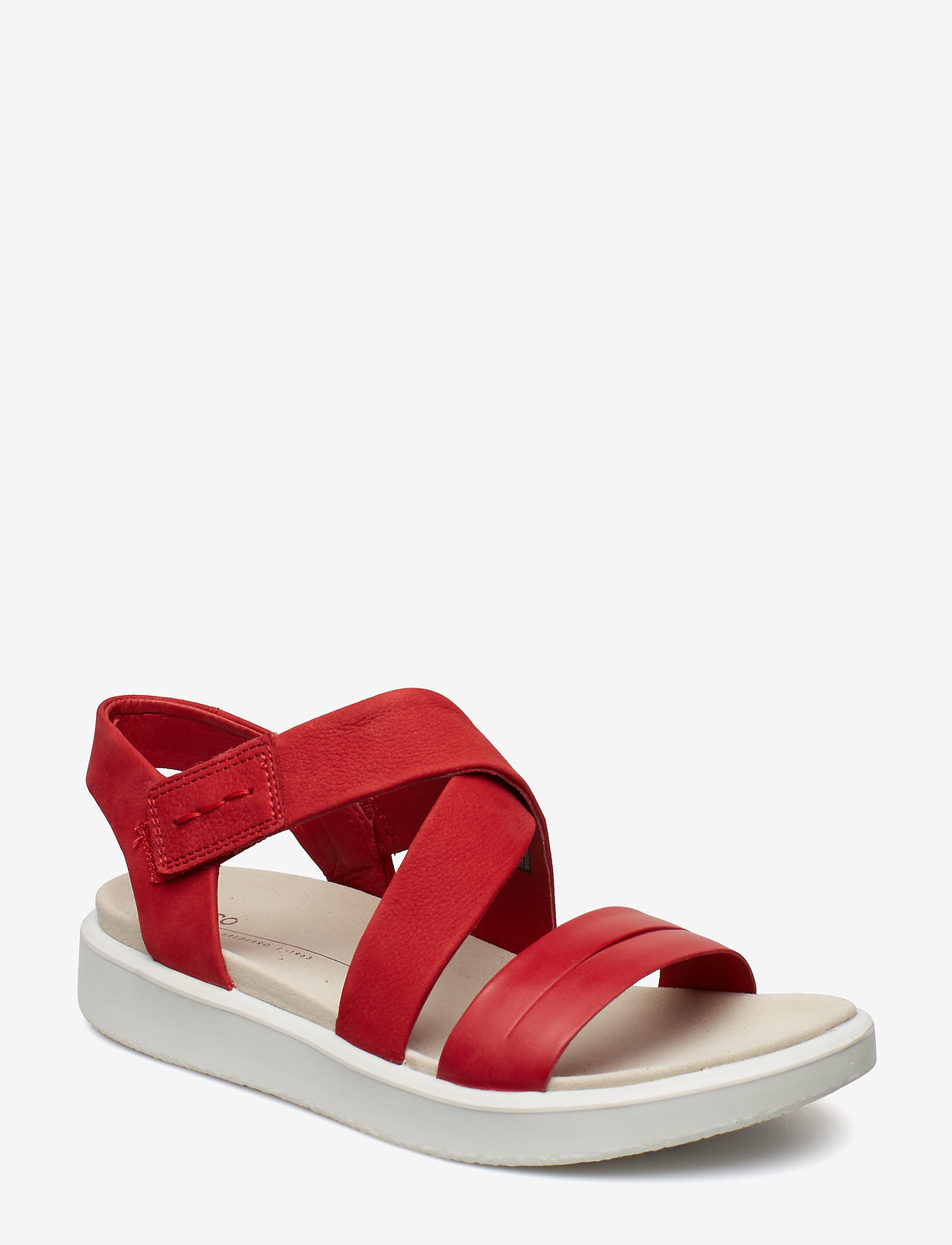 ECCO - FLOWT W - flat sandals - chili red/chili red - 0