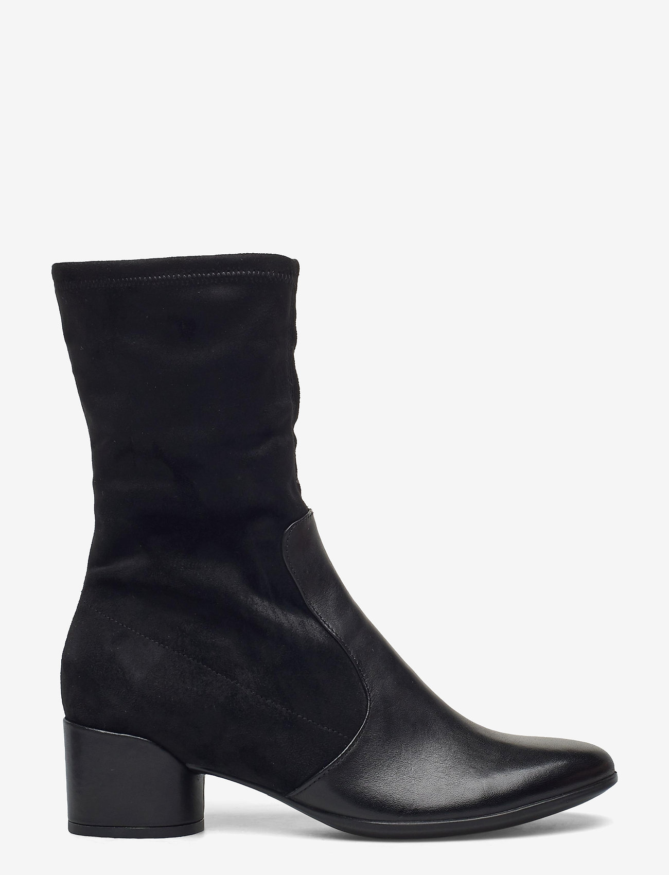 ECCO - SHAPE 35 MOD BLOCK - lange laarzen - black/black - 1