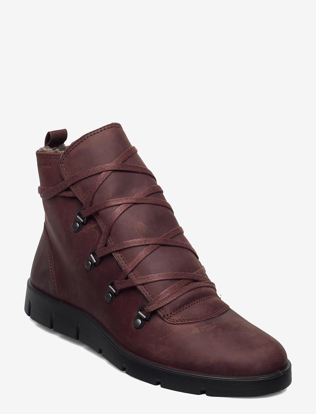 ECCO - BELLA - flat ankle boots - chocolat - 0