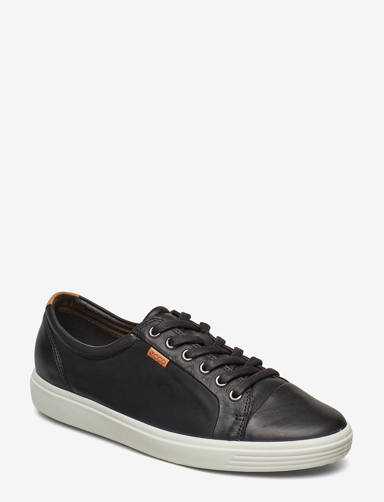 ECCO - SOFT 7 W - niedrige sneakers - black - 0