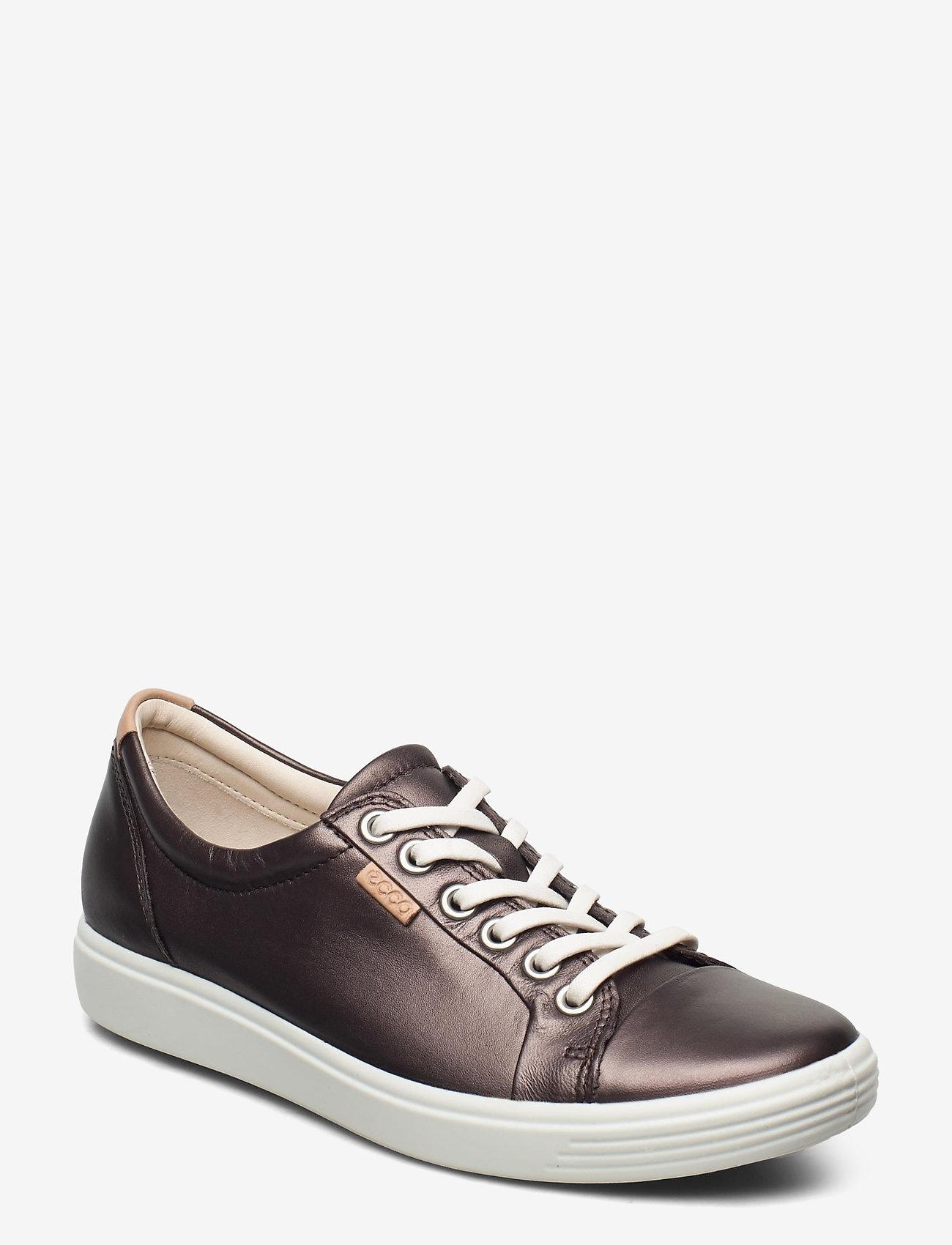 ECCO - SOFT 7 W - låga sneakers - shale metallic - 0