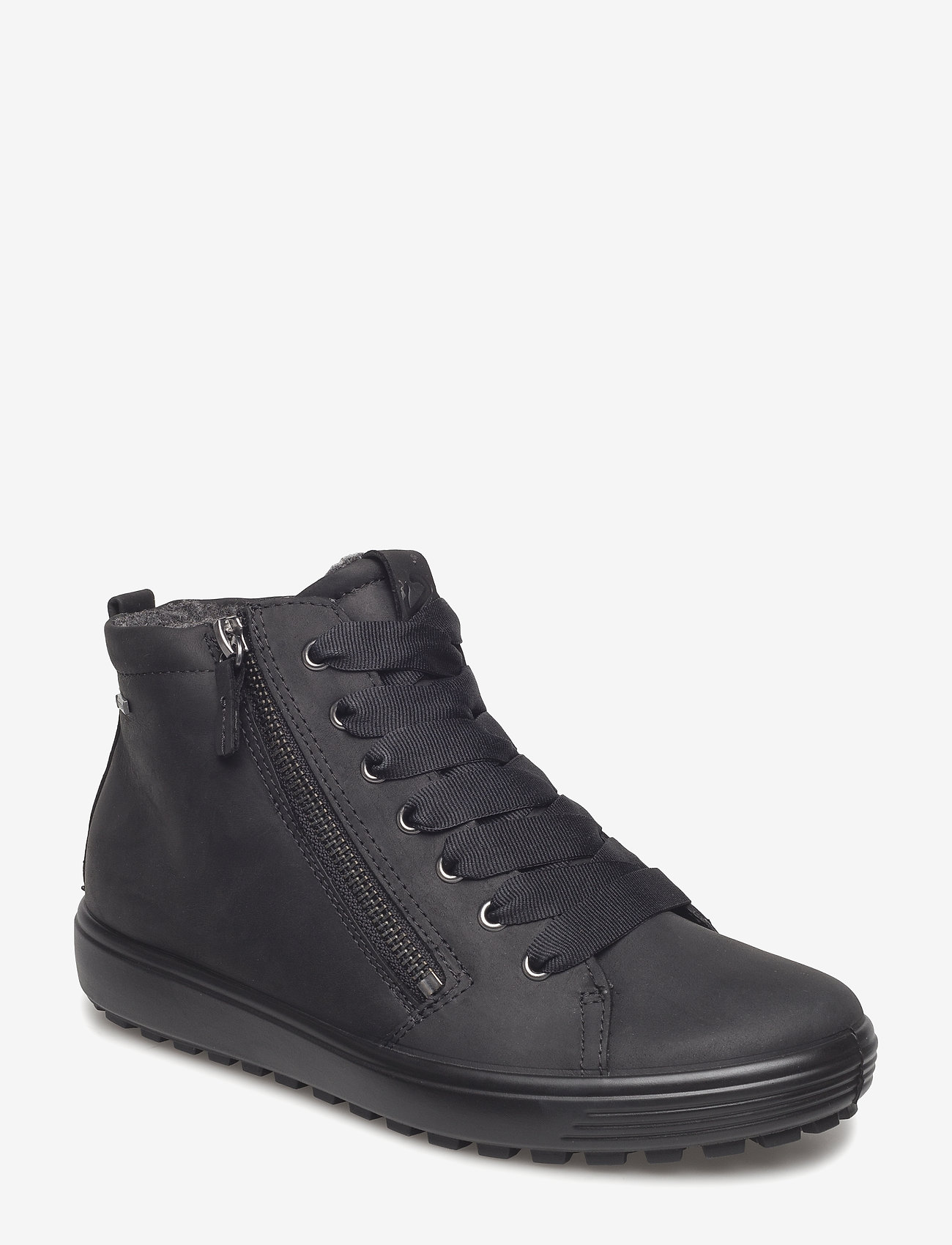 ECCO - SOFT 7 TRED W - flat ankle boots - black - 1