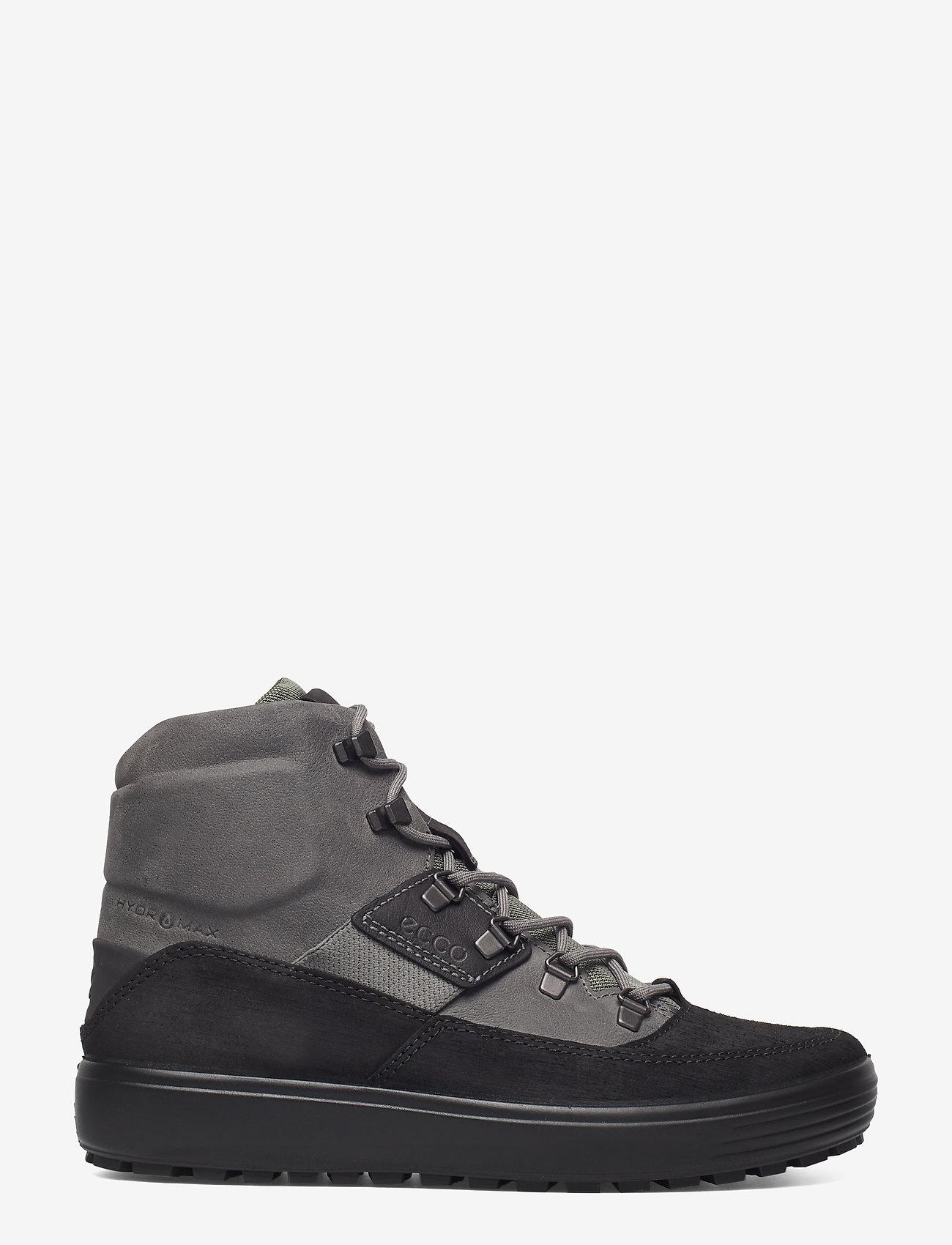 ECCO - SOFT 7 TRED M - laced boots - black/titanium - 1