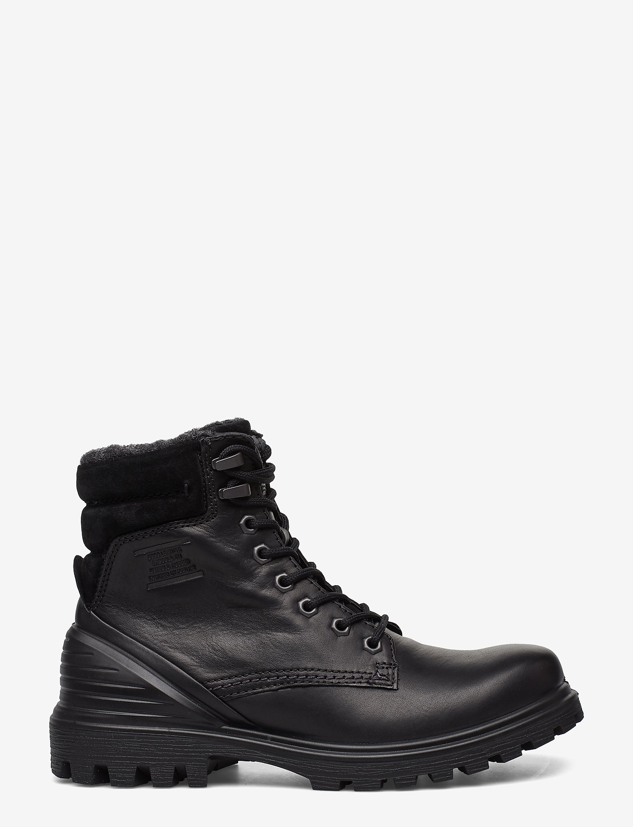 ECCO - TREDTRAY W - flade ankelstøvler - black/black - 1