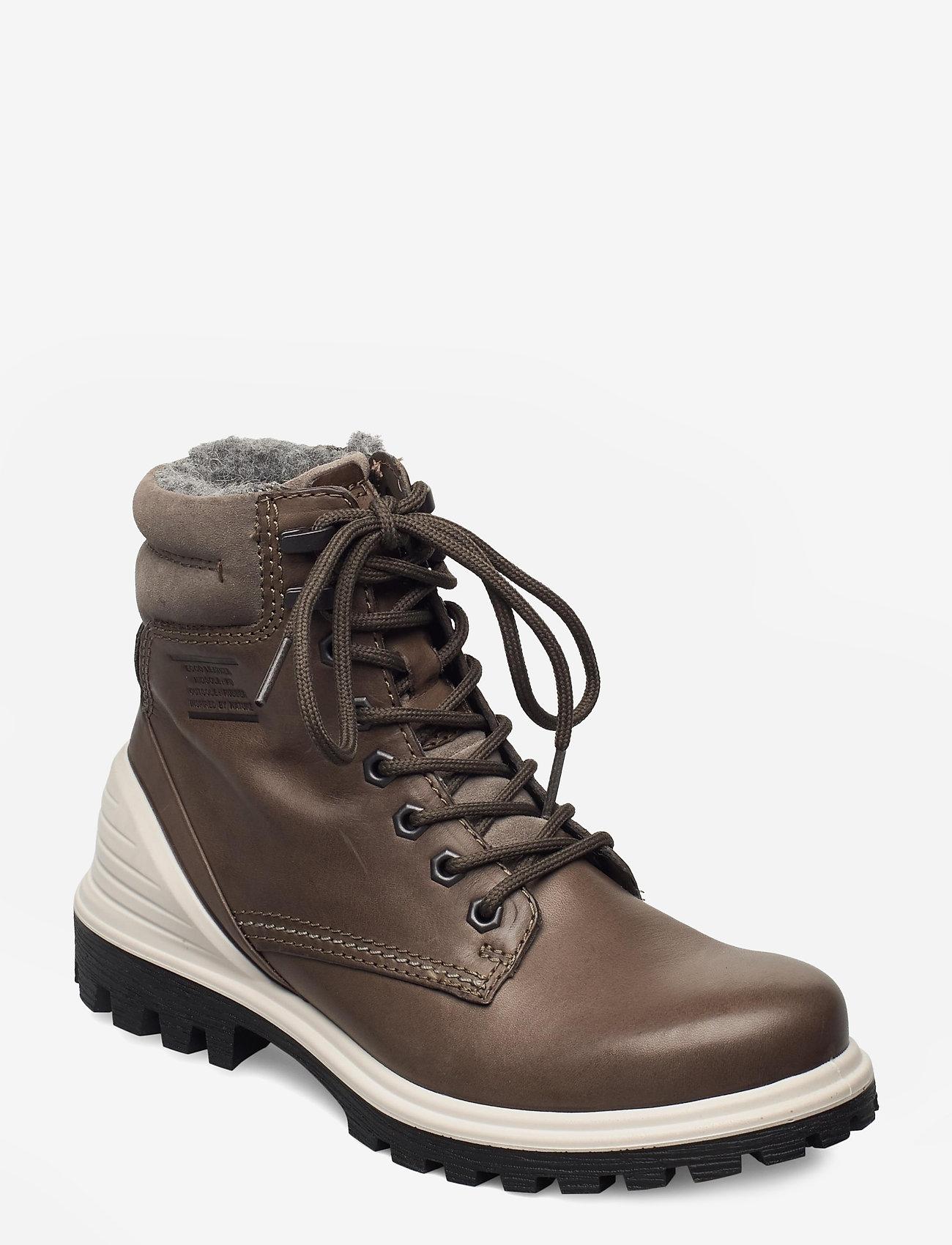 ECCO - TREDTRAY W - flade ankelstøvler - warm grey/warm grey - 1