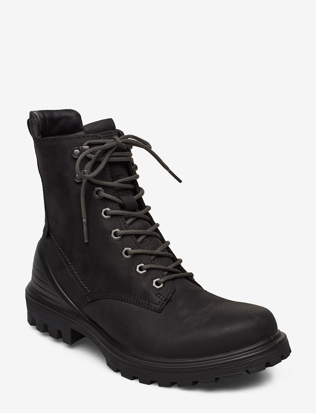 ECCO - TREDTRAY M - laced boots - black - 0