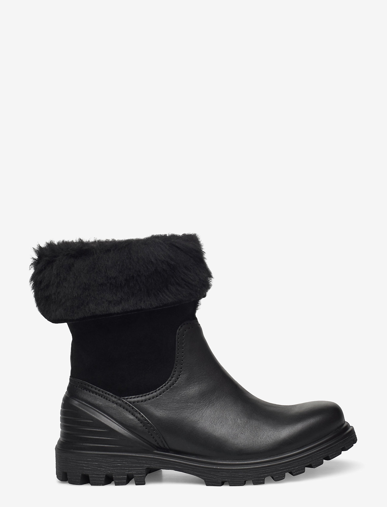 ECCO - TREDTRAY W - flat ankle boots - black/black - 1