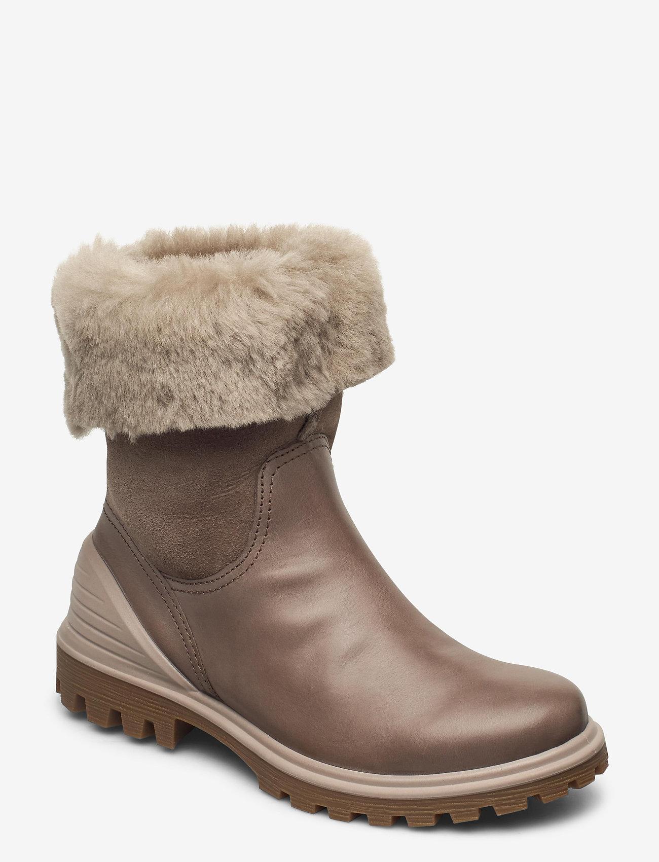 ECCO - TREDTRAY W - flat ankle boots - dark clay/moon rock - 0