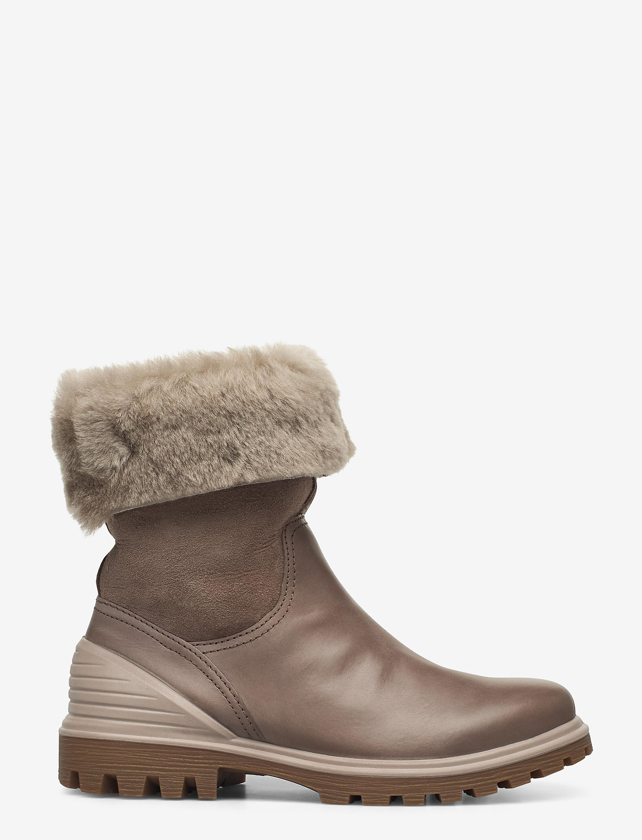 ECCO - TREDTRAY W - flat ankle boots - dark clay/moon rock - 1